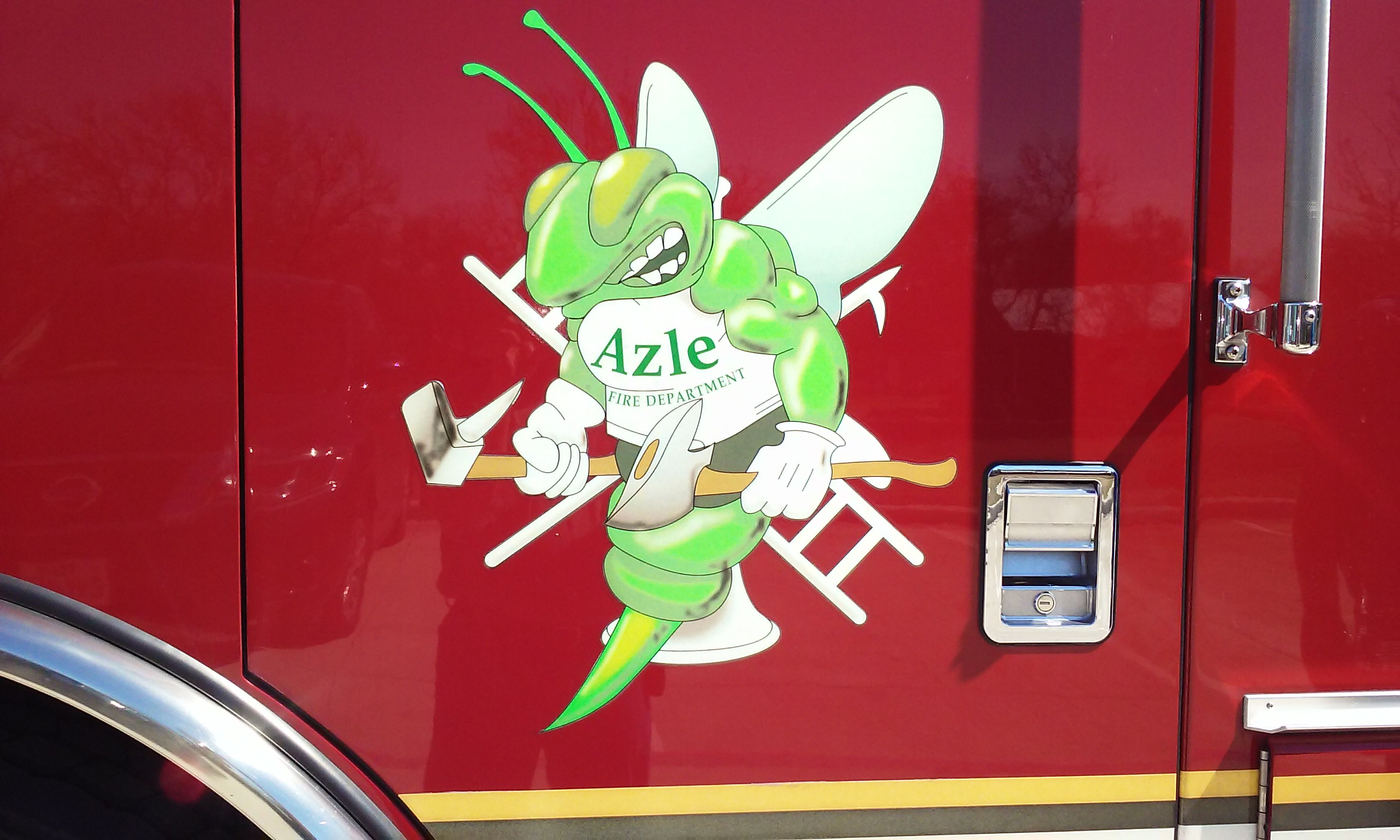 Azle Fire Department Logo - Azle, Texas